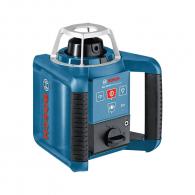Ротационен лазерен нивелир BOSCH GRL 300 HVG Professional, зелен лазер клас 3R, обхват 300m, точност 3.0mm/10m, автоматично