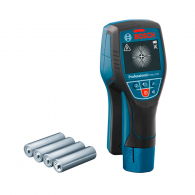 Скенер за стени BOSCH D-tect 120 Solo, метал до 120мм, дърво до 38мм и проводници до 60мм