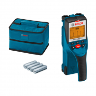 Скенер за стени BOSCH D-tect 150, метал 150мм, мед 150мм, дърво 40мм и проводници 60мм