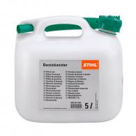 Туба за бензин STIHL 5л, пластмасова, прозрачна