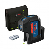 Лазерен 5-точков нивелир BOSCH GPL 3 G Professional, 3 лазерни диода, точност 3.5mm/10m, автоматично
