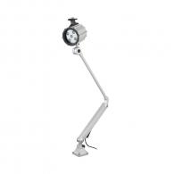 Настолна LED лампа FERVI 0372, 10W, 1200 lm, 6500 K, IP65, сив