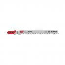 Нож за прободен трион BOSCH T102 2.3х100/76мм, за ламинат, пластмаса, HCS, Т-захват - small