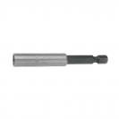 Удължител за накрайници UNIOR 75мм, 1/4'', E6.3, с магнит - small