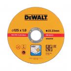 Диск карбофлексов DEWALT 125х1.0х22.23мм
