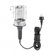 Лампа подвижна с предпазна решетка FERVI, 220V, 60W, 5 м с кабел IP54
