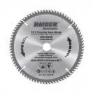 Диск с твърдосплавни пластини RAIDER 190/2.4/20 Z=80, за дървесина - small