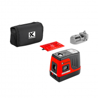 Лазерен 5-точков нивелир KARPO 896 Prolaser 5-Dot, 5 лазерни диода, точност 4mm/10m, 30м, автоматично