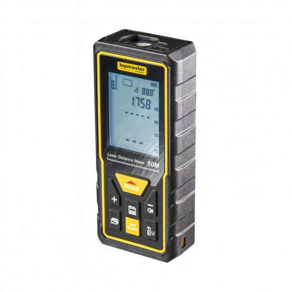 Лазерна ролетка TOPMASTER TMP 50, 0.2-50м, ± 2.0мм