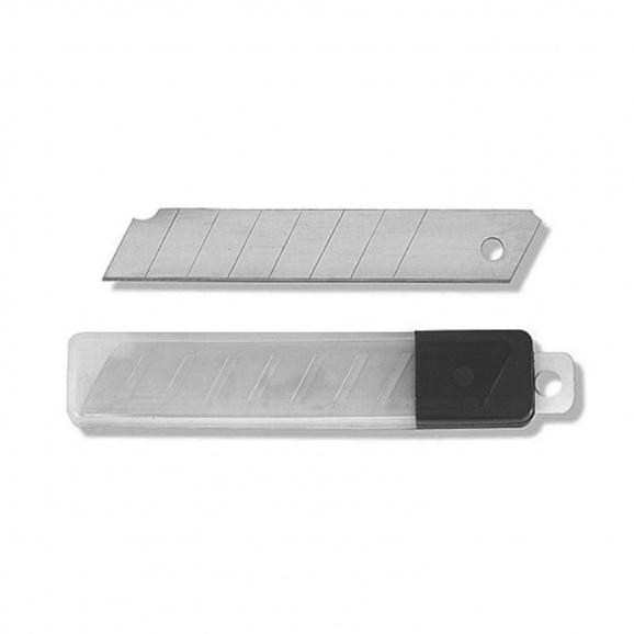 Резервно острие за макетен нож Prep 18x100мм 10броя, чупещи се 7 елемента, 10бр в блистер