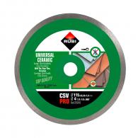 Диск диамантен RUBI CSV Pro 115x1.6x22.23мм, за керамика, теракот, фаянс, сухо рязане