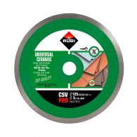 Диск диамантен RUBI CSV Pro 125x1.6x22.23мм, за керамика, теракот, фаянс, сухо рязане