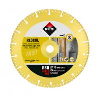 Диск диамантен RUBI RSQ 115x2.4x22.23мм, универсален, сухо рязане