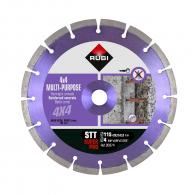 Диск диамантен RUBI STT 115x2.2x22.23мм, за армиран бетон, сухо рязане