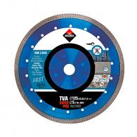 Диск диамантен RUBI TVA 125x1.4x22.23мм, за керамика, порцелан, фибростъкло, сухо рязане