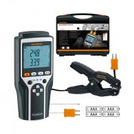 Термометър LASERLINER ThermoMaster Plus set, обхват от -50°C до +1300°C, точност ± 0.8°C