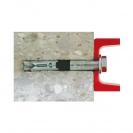 Анкер втулков с болт FRIULSIDER 79302 M8/12x80, за тежки закрепвания, 25бр. в кутия, сертифициран - small, 138655