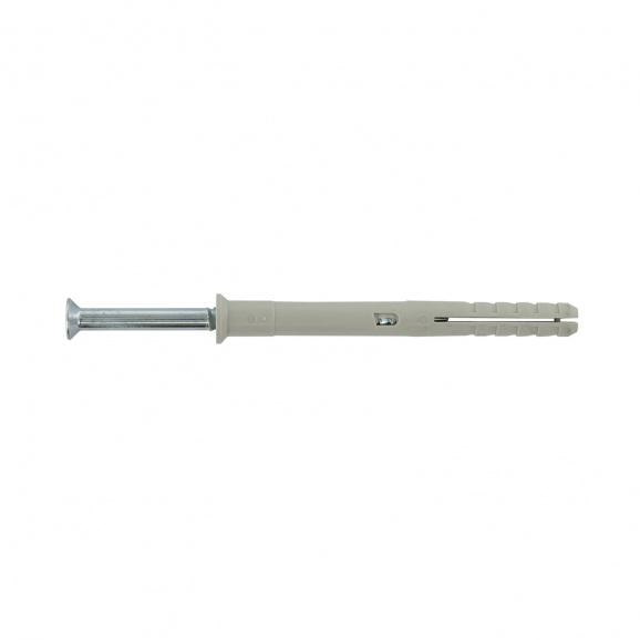 Дюбел пирон FRIULSIDER 62200 10x80мм, със скосена периферия, 100бр. в кутия