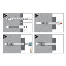Дюбел удължен FRIULSIDER 60300 10x80мм, 100бр. в кутия - small, 140611