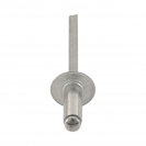 Попнит алуминиев BRALO DIN7337C 4.0x10/D12.0мм, широка периферия, 500бр. в кутия - small, 116073