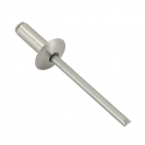 Попнит алуминиев BRALO DIN7337C 4.0x14/D12.0мм, широка периферия, 250бр. в кутия - small, 116090