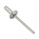 Попнит алуминиев BRALO DIN7337C 4.0x18/D12.0мм, широка периферия, 250бр. в кутия - small, 116110