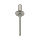 Попнит алуминиев BRALO DIN7337C 4.8x10/D14.0мм, широка периферия, 250бр. в кутия - small, 116127