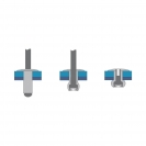 Попнит алуминиев BRALO DIN7337C 4.8x10/D14.0мм, широка периферия, 250бр. в кутия - small, 116129