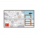 Винт за директен монтаж 7.5х152мм, за бетон, самонарезен, 100бр. в кутия - small, 138165