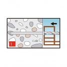 Винт за директен монтаж 7.5х92мм, за бетон, самонарезен, 100бр. в кутия - small, 138156