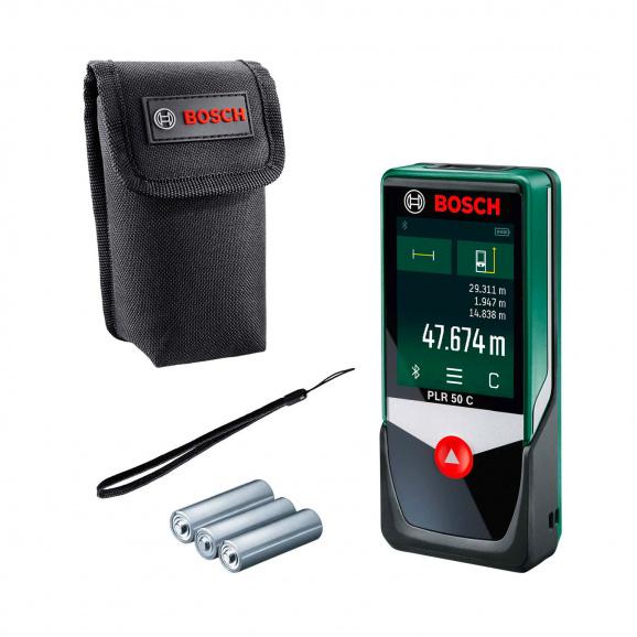 Лазерна ролетка BOSCH PLR 50 C, 0.05-50м, ± 2.0мм
