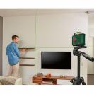 Линеен лазерен нивелир BOSCH AdvancedLevel 360 Set, 3 лазерни линии, 1 точка, точност 4mm/10m, автоматично - small, 178935