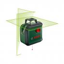 Линеен лазерен нивелир BOSCH AdvancedLevel 360 Set, 3 лазерни линии, 1 точка, точност 4mm/10m, автоматично - small, 179826