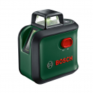 Линеен лазерен нивелир BOSCH AdvancedLevel 360 Set, 3 лазерни линии, 1 точка, точност 4mm/10m, автоматично - small, 179827
