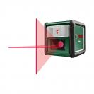 Линеен лазерен нивелир BOSCH Quigo, 2 лазерни линии, точност 8mm/10m, автоматично - small
