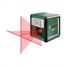 Линеен лазерен нивелир BOSCH Quigo Plus, 2 лазерни линии, точност 8mm/10m, автоматично - small, 179814