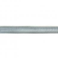 Шпилка VALENTA DIN976 M10x1000mm, кл.4.8, Zn, 100бр. в пакет