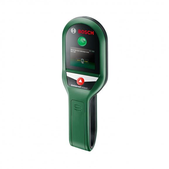 Скенер за стени BOSCH UniversalDetect, метал до 100мм, дърво до 25мм и проводници 50мм
