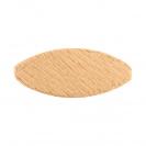 Дибли VIRUTEX №10, бук, дълбочина на канала 10мм, 1000бр в опаковка - small, 95862