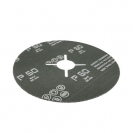 Фибершайба FEN KSF-F 125x22.23мм Р16, за шлайфане на за мрамор, камък и алуминий, черна - small, 39127