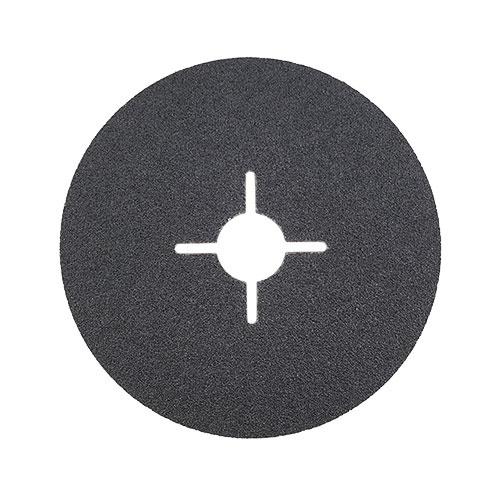 Фибершайба FEN KSF-F 125x22.23мм Р180, за шлайфане на за мрамор, камък и алуминий, черна