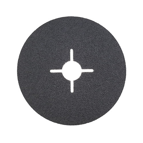 Фибершайба FEN KSF-F 125x22.23мм Р220, за шлайфане на за мрамор, камък и алуминий, черна