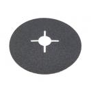 Фибершайба FEN KSF-F 125x22.23мм Р24, за шлайфане на за мрамор, камък и алуминий, черна - small, 38053