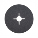 Фибершайба FEN KSF-F 125x22.23мм Р320, за шлайфане на за мрамор, камък и алуминий, черна - small