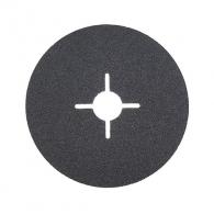 Фибершайба FEN KSF-F 125x22.23мм Р320, за шлайфане на за мрамор, камък и алуминий, черна