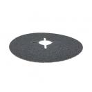 Фибершайба FEN KSF-F 125x22.23мм Р80, за шлайфане на за мрамор, камък и алуминий, черна - small, 39128