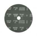 Фибершайба FEN KSF-F 180x22.23мм Р100, за шлайфане на за мрамор, камък и алуминий, черна - small, 40261