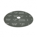 Фибершайба FEN KSF-F 180x22.23мм Р50, за шлайфане на за мрамор, камък и алуминий, черна - small, 37388
