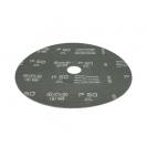 Фибершайба FEN KSF-F 180x22.23мм Р80, за шлайфане на за мрамор, камък и алуминий, черна - small, 37662