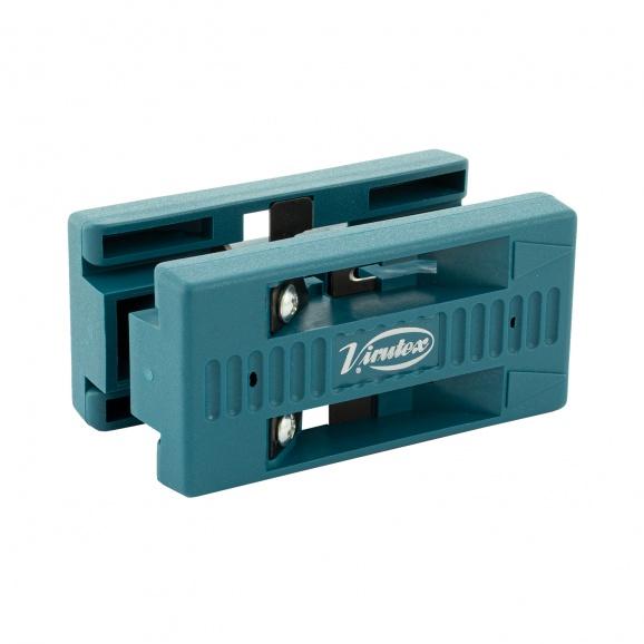 Инструмент за рязане на мебелен кант VIRUTEX AU93, дебелина на канта до 0.6мм, широчина на обрязване 40мм-двустранно